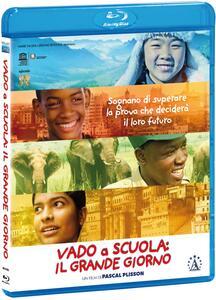 Vado a scuola. Il grande giorno (Blu-ray) di Pascal Plisson - Blu-ray