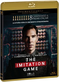 Cover Dvd The Imitation Game (Blu-ray)