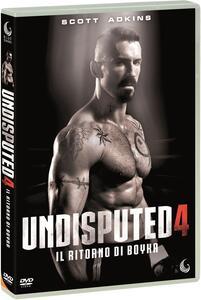 Undisputed 4. Il ritorno di Boyka (DVD) di Todor Chapkanov - DVD