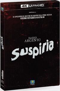 Suspiria. Limited Edition (Blu-ray Ultra HD 4k + Blu-ray + CD) di Dario Argento