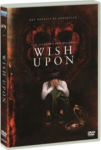 Wish Upon. Special Edition. Con card tarocco da collezione (DVD) di John R. Leonetti - DVD