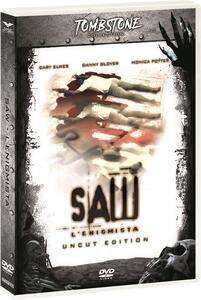 Saw. L'enigmista. Uncut. Special Edition. Con card tarocco da collezione (DVD) di James Wan,Darren Lynn Bousman - DVD