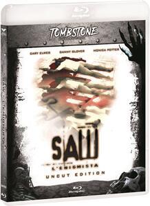Saw. L'enigmista. Uncut. Special Edition. Con card tarocco da collezione (Blu-ray) di James Wan,Darren Lynn Bousman - Blu-ray
