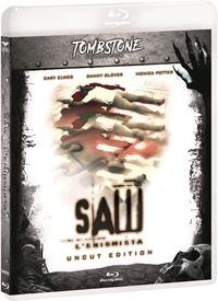 Cover Dvd Saw. L'enigmista. Uncut Special Edition con Card (Blu-ray)
