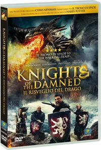 Cover Dvd Knights of the Damned. Il risveglio del drago (DVD)