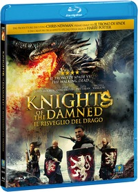 Cover Dvd Knights of the Damned. Il risveglio del drago (Blu-ray)
