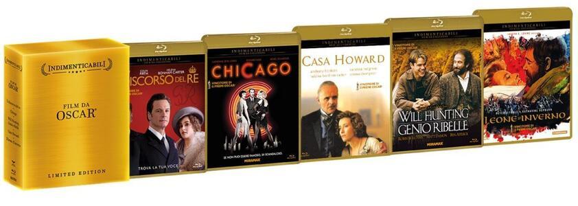 Cofanetto Film da Oscar (5 Blu-ray) di Anthony Harvey,Tom Hooper,James Ivory,Rob Marshall,Gus Van Sant - 2