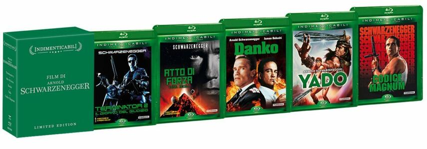 Arnold Schwarzenegger Collection (5 Blu-ray) di James Cameron,Richard Fleischer,Walter Hill,John Irvin,Paul Verhoeven - 2