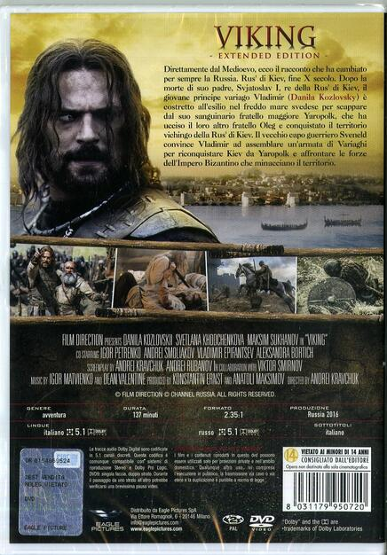 Viking  Extended Edition (DVD) - DVD - Film di Andrei