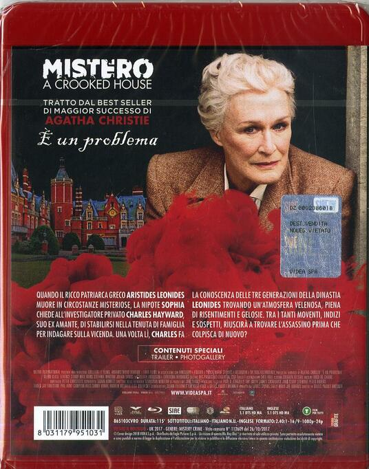 Mistero a Crooked House (Blu-ray) di Gilles Paquet-Brenner - Blu-ray - 2