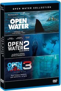 Open Water Collection (3 DVD) di Hans Horn,Chris Kentis,Gerald Rascionato