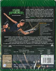 Lara Croft. Tomb Raider (Blu-ray) di Simon West - Blu-ray - 2
