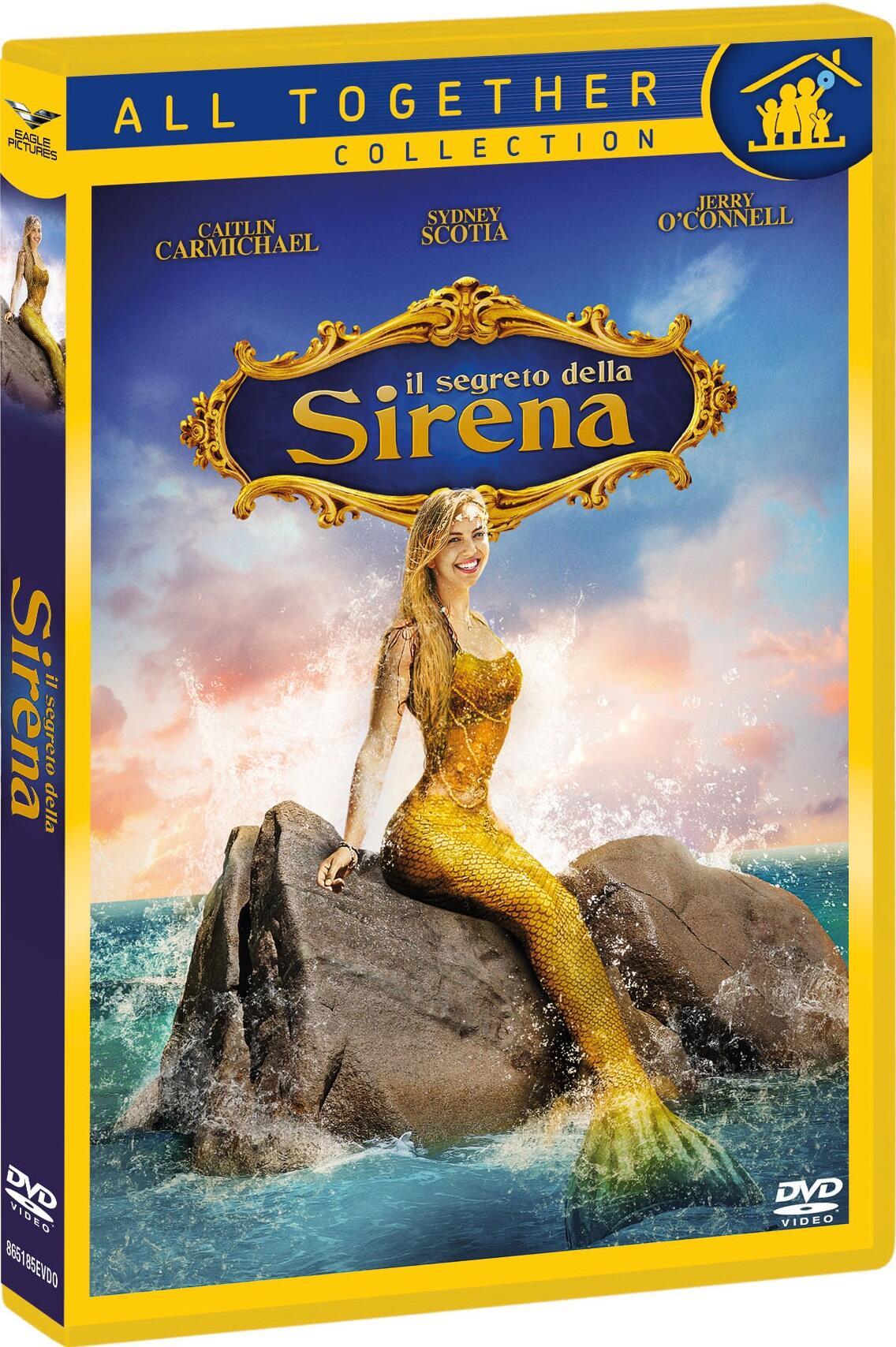 Il segreto della sirena dvd dvd film di dustin - Sirena libro da colorare ...