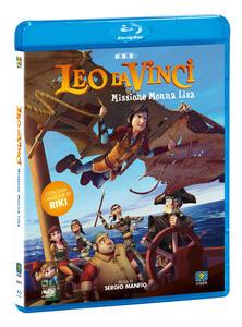 Leo Da Vinci. Missione Monna Lisa (Blu-ray) di Sergio Manfio - Blu-ray