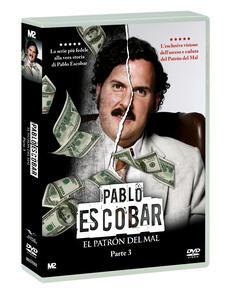 Pablo Escobar. El Patrón del Mal. Parte 3 (5 DVD) di Carlos Moreno,Laura Mora - DVD