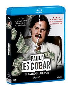 Pablo Escobar. El Patrón del Mal. Parte 3 (3 Blu-ray) di Carlos Moreno,Laura Mora - Blu-ray