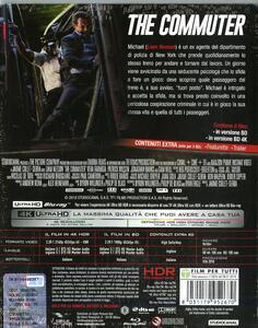 L' uomo sul treno. Con Steelbook (Blu-ray + Blu-ray 4K Ultra HD) di Jaume Collet-Serra - Blu-ray + Blu-ray Ultra HD 4K - 2