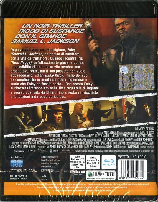 The Samaritan (Blu-ray) di David Weaver - Blu-ray - 2