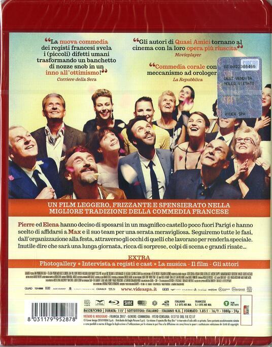 C'est la vie. Prendila come viene (Blu-ray) di Olivier Nakache,Eric Toledano - Blu-ray - 2