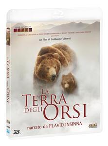 La terra degli orsi (Blu-ray + Blu-ray 3D) di Guillaume Vincent - Blu-ray + Blu-ray 3D