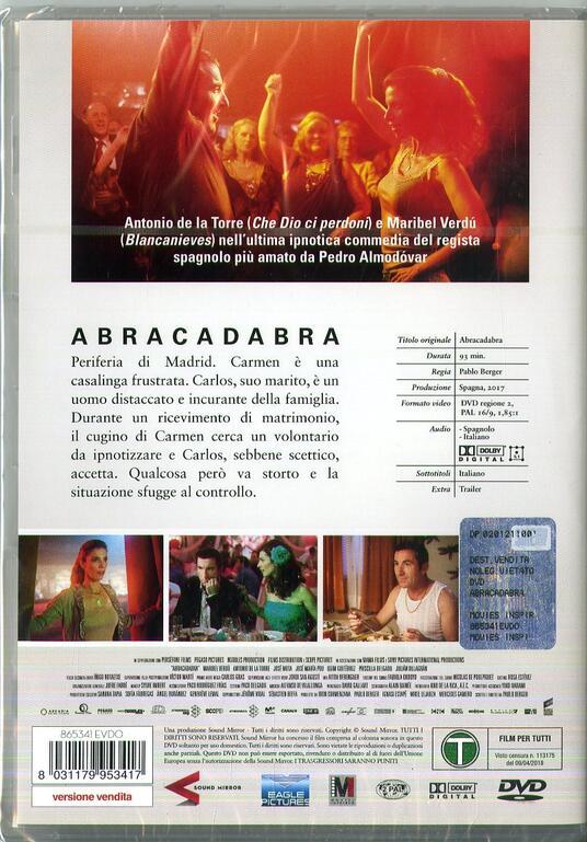 Abracadabra (DVD) di Pablo Berger - DVD - 3
