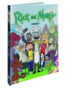 Rick and Morty. Stagione 2. Edizione Mediabook Collector (2 DVD) di Dan Harmon,Justin Roiland - DVD