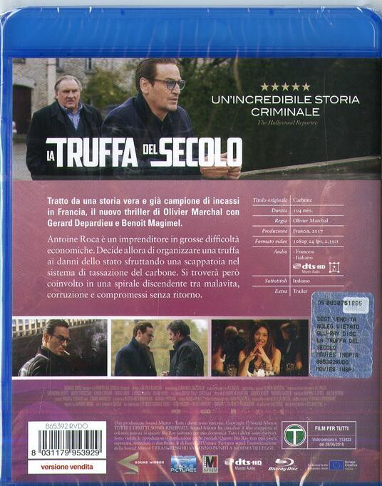 La truffa del secolo (Blu-ray) di Olivier Marchal - Blu-ray - 2