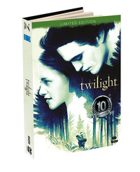 Cover Dvd Twilight. Digibook Limited Edition (2 DVD)