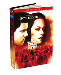 Cover Dvd New Moon. The Twilight Saga. Digibook Limited Edition (2 DVD)