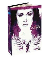 Cover Dvd Eclipse. The Twilight Saga. Digibook Limited Edition (2 DVD)