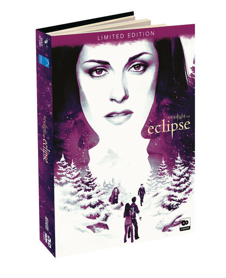 Eclipse. The Twilight Saga. Digibook Limited Edition (2 DVD) di David Slade - DVD