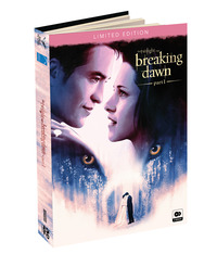 Cover Dvd Breaking Dawn Part 1. The Twilight Saga. Digibook Limited Edition (2 DVD)