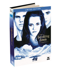 Cover Dvd Breaking Dawn Part 2. The Twilight Saga. Digibook Limited Edition (2 DVD)