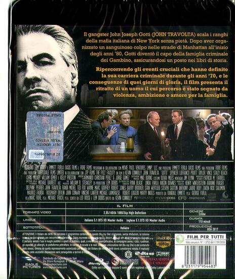 Gotti. Il primo padrino (Blu-ray) di Kevin Connolly - Blu-ray - 2