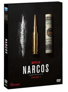 Narcos. Stagione 3. Serie TV ita (DVD) di Carlo Bernard,Chris Brancato,Doug Miro - DVD