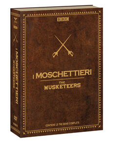 The Musketeers. Stagioni 1, 2, 3.Serie TV ita (12 DVD) di Adrian Hodges - DVD