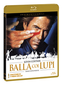 Cover Dvd Balla coi lupi. Theatrical Extended Edition (Blu-ray)