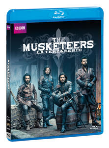 The Musketeers. Stagione 3. Serie TV ita (Blu-ray) di Adrian Hodges - Blu-ray