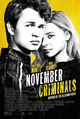 Cover Dvd DVD November Criminals