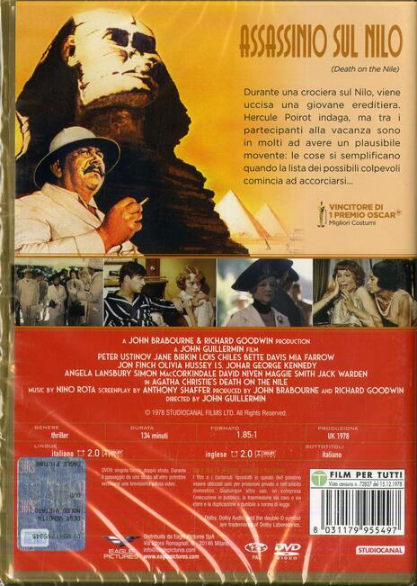 Assassinio sul Nilo (DVD) di John Guillermin - DVD - 2