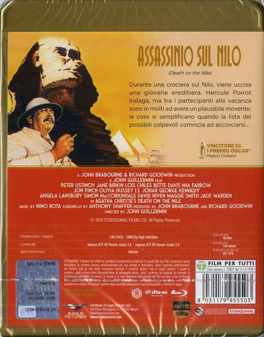 Assassinio sul Nilo (Blu-ray) di John Guillermin - Blu-ray - 2