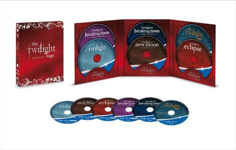 Cofanetto Twilight. Edizione limitata e numerata. Decimo anniversario (5 Blu-ray) di Catherine Hardwicke - 2