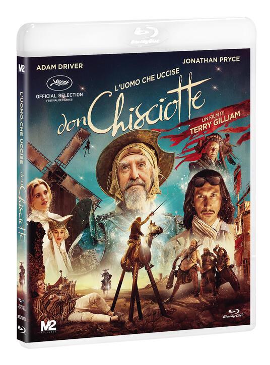 L' uomo che uccise Don Chisciotte (Blu-ray) di Terry Gilliam - Blu-ray