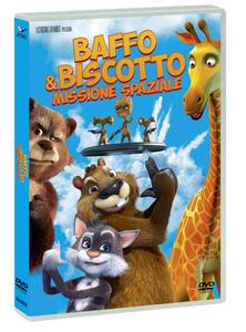 Baffo & Biscotto. Missione spaziale (DVD) di Victor Azeev - DVD