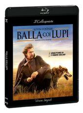 Film Balla coi lupi. Edizione con Card da collezione. (DVD + Blu-ray) Kevin Costner