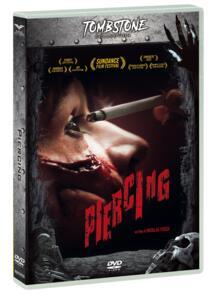 Piercing. Con Card tarocco (DVD) di Nicolas Pesce - DVD