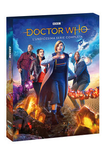 Doctor Who. Stagione 11. Serie TV ita (4 Blu-ray) di Chris Chibnall - Blu-ray