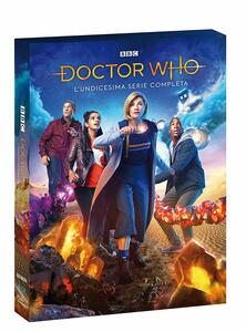 Doctor Who. Stagione 11. Serie TV ita. Edizione limitata con targa (4 Blu-ray) di Chris Chibnall - Blu-ray