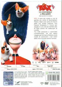Rex. Un cucciolo a palazzo (DVD) di Vincent Kesteloot,Ben Stassen - DVD - 2