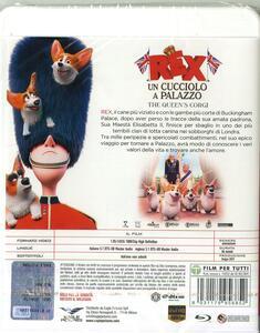 Rex. Un cucciolo a palazzo (Blu-ray) di Vincent Kesteloot,Ben Stassen - Blu-ray - 2